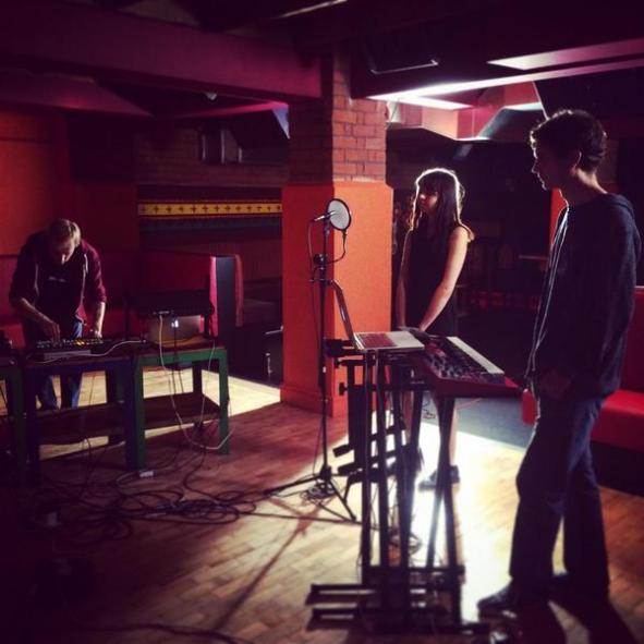 Shooting a live Video for Re:Tract in Manchester