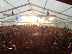 Billy Ocean support gig with Jen Armstrong at Grassington Festival.