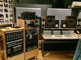 Mixing console and studio gear