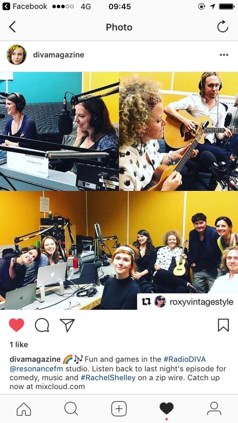 Fuzzie at Diva FM