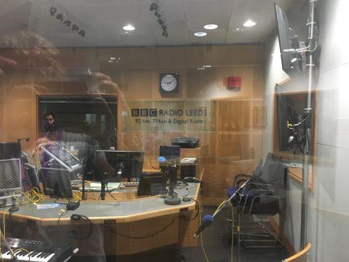 Fuzzie at BBC Radio Leeds