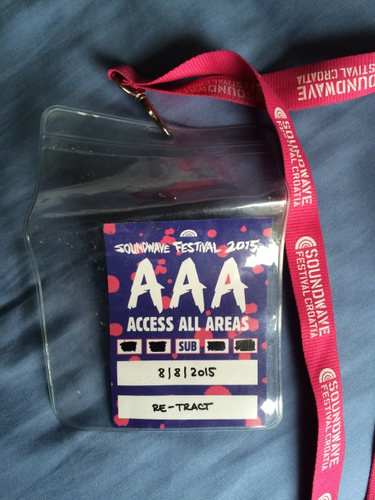 Soundwave AAA pass