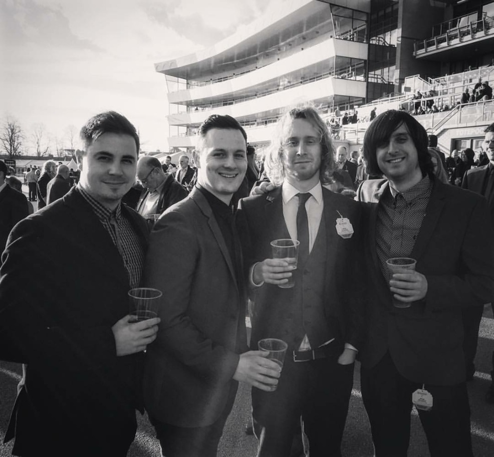 Gig at Doncaster Races with The Beat Collective