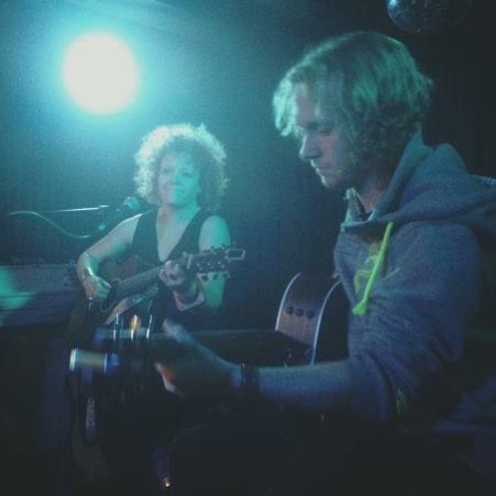 Gig with Fuzzy Jones in Leeds