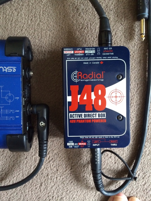 New Radial J48 DI Box