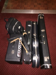 Gear for guitar gig with Toy Pop